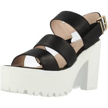 Schoenen Dames Sandalen / Open schoenen Alpe 1822 15 Zwart