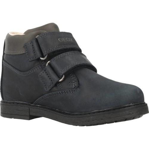 Schoenen Jongens Laarzen Geox B GLIMMER B Blauw
