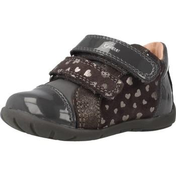 Schoenen Meisjes Hoge sneakers Geox B KAYTAN G Grijs
