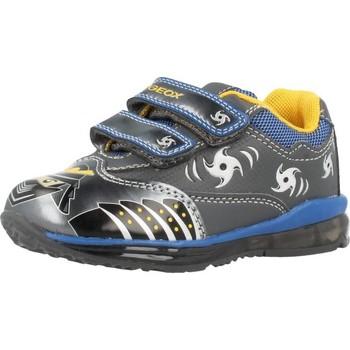 Schoenen Jongens Lage sneakers Geox B TODO B. C con luces Grijs