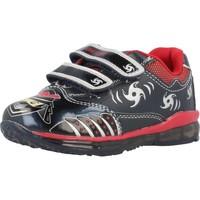 Schoenen Jongens Lage sneakers Geox B TODO B. C con luces Blauw