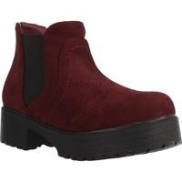 Schoenen Meisjes Laarzen Different 4216 Rood
