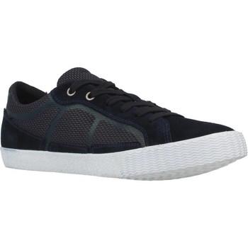 Schoenen Heren Lage sneakers Geox U SMART I Blauw