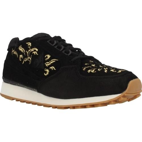 Schoenen Dames Lage sneakers Le Coq Sportif ECLAT W EMBROIDERY Zwart