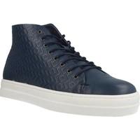 Schoenen Dames Hoge sneakers Gas ROMA ETNICO Blauw