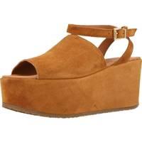 Schoenen Dames Sandalen / Open schoenen Alpe 3422 11 Bruin