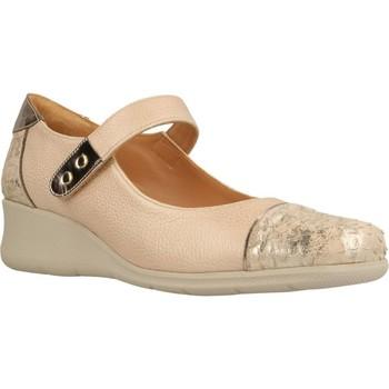 Schoenen Dames Derby & Klassiek Platino 1174080 Bruin
