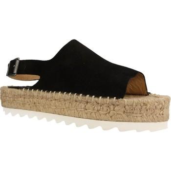 Schoenen Dames Espadrilles Mamalola 464M Zwart