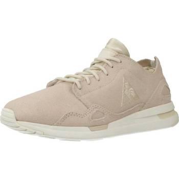 Schoenen Dames Lage sneakers Le Coq Sportif LCS R FLOW W METALLIC SUEDE Roze