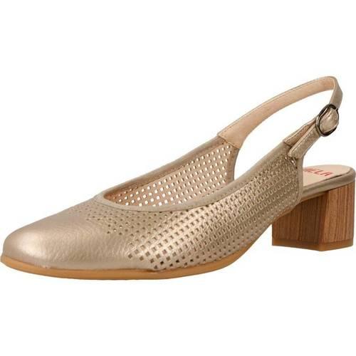 Schoenen Dames Sandalen / Open schoenen Mikaela 73900 Goud