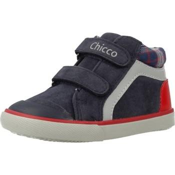 Schoenen Jongens Hoge sneakers Chicco GAYER Blauw