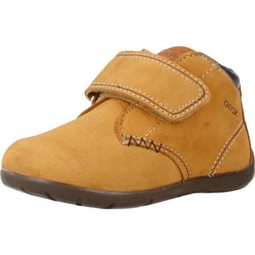 Schoenen Jongens Laarzen Geox B KAYTAN Bruin