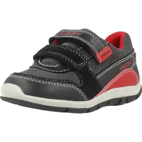 Schoenen Jongens Lage sneakers Geox B SHAAX Zwart