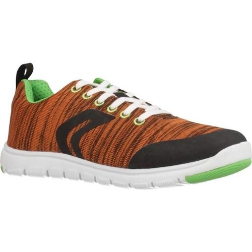 Schoenen Jongens Lage sneakers Geox J XUNDAY BOY Oranje