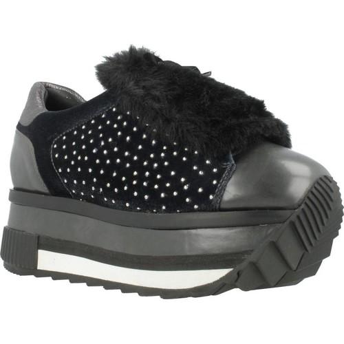 Schoenen Dames Lage sneakers Elvio Zanon G6204N Blauw