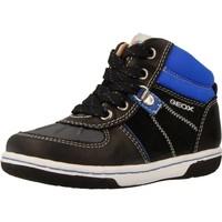Schoenen Jongens Hoge sneakers Geox B FLICK BOY Blauw