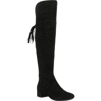 Schoenen Dames Lieslaarzen Geox D NEW CAREY Zwart