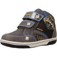 Schoenen Jongens Hoge sneakers Geox B FLICK BOY Grijs