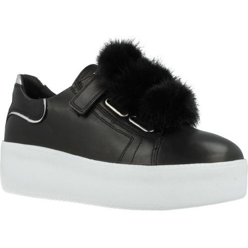 Schoenen Dames Sneakers Just Another Copy JACPOP007 Zwart