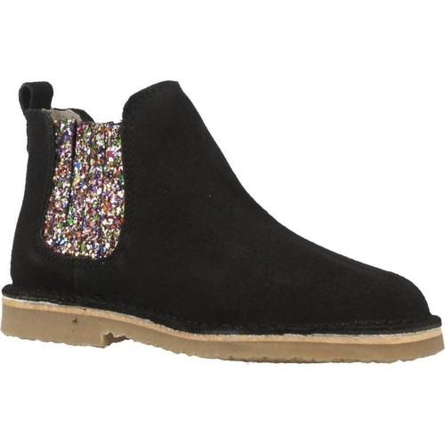 Schoenen Meisjes Laarzen B-Run 301B Zwart