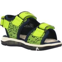 Schoenen Jongens Sandalen / Open schoenen Geox B SANDAL TODO BOY Geel
