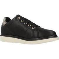 Schoenen Meisjes Lage sneakers Geox J THYMAR GIRL Zwart