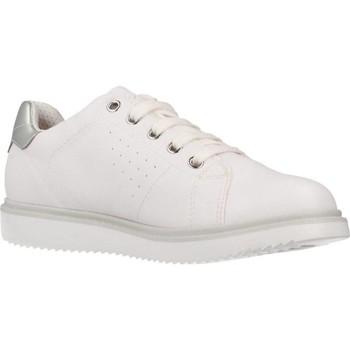 Schoenen Meisjes Lage sneakers Geox J THYMAR GIRL Wit