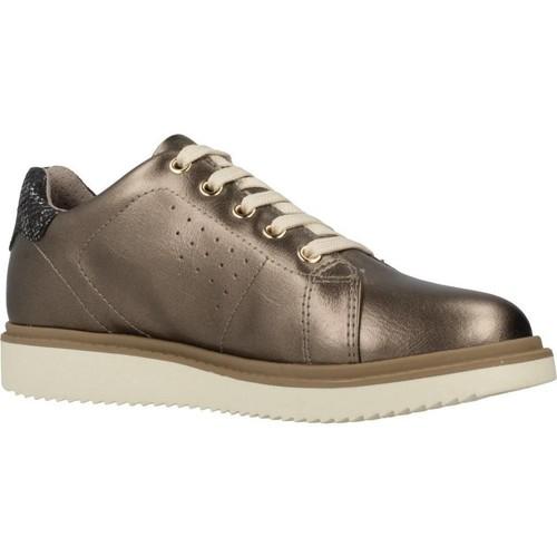 Schoenen Meisjes Lage sneakers Geox J THYMAR G Bruin