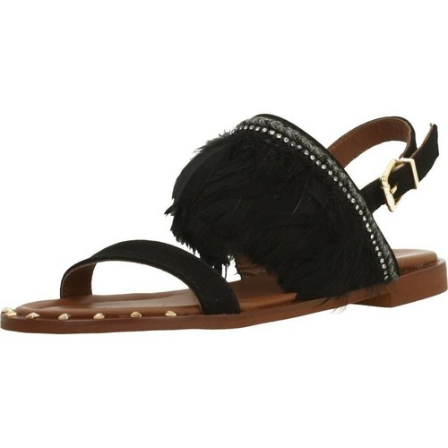 Schoenen Dames Sandalen / Open schoenen Alpe 3744 12 Zwart