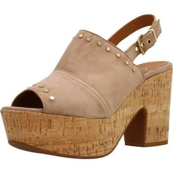 Schoenen Dames Sandalen / Open schoenen Alpe 3767 12 Bruin