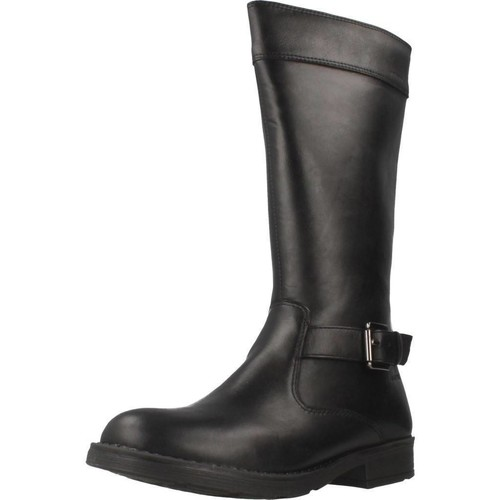 Schoenen Meisjes Hoge laarzen Geox JR SOFIA B ABX Zwart