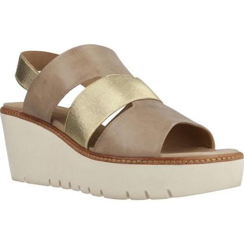 Schoenen Dames Sandalen / Open schoenen Geox D DOMEZIA Bruin