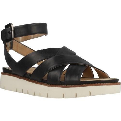 Schoenen Dames Sandalen / Open schoenen Geox D DARLINE Zwart