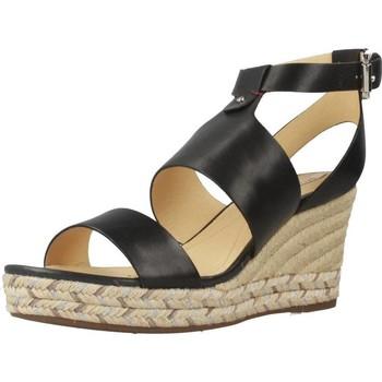 Schoenen Dames Espadrilles Geox D SOLEIL Zwart