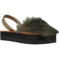 Schoenen Dames Sandalen / Open schoenen Menorquinas Popa GOA Groen