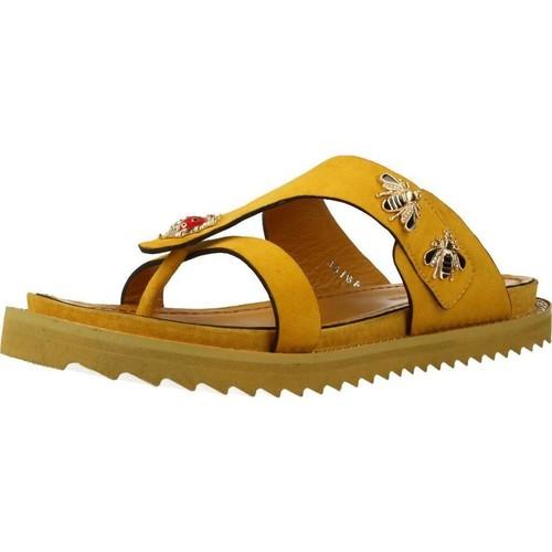 Schoenen Dames Sandalen / Open schoenen Elvio Zanon H0504P Geel