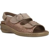 Schoenen Dames Sandalen / Open schoenen Mateo Miquel 3297M Bruin