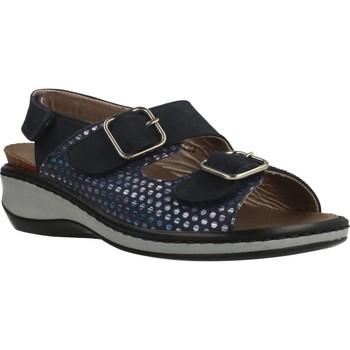 Schoenen Dames Sandalen / Open schoenen Mateo Miquel 3297M Blauw
