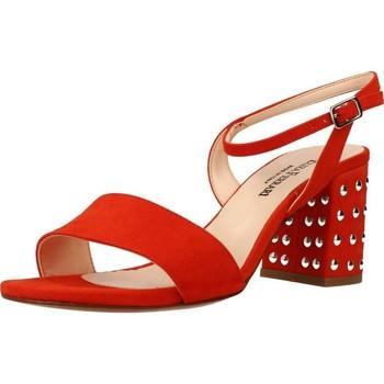 Schoenen Dames Sandalen / Open schoenen Eliza Ferrari 170 60 Oranje