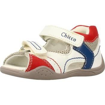 Schoenen Jongens Sandalen / Open schoenen Chicco GIM Wit