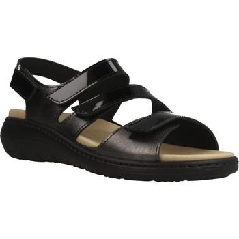Schoenen Dames Sandalen / Open schoenen Pinoso's 7574P Zwart