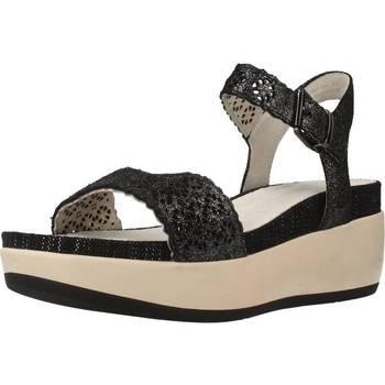 Schoenen Dames Sandalen / Open schoenen Lumberjack BLANCHE Zwart