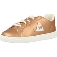 Schoenen Meisjes Lage sneakers Le Coq Sportif COURTONE INF METALLIC Goud