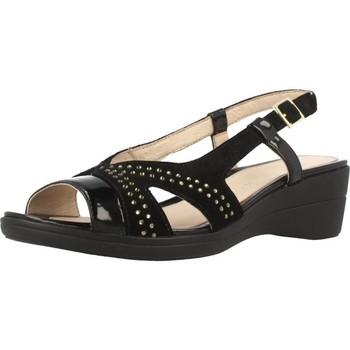 Schoenen Dames Sandalen / Open schoenen Stonefly VANITY III 8 Zwart