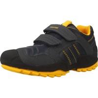 Schoenen Jongens Lage sneakers Geox J NEW SAVAGE B.A Blauw