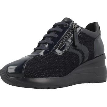 Schoenen Dames Lage sneakers Geox D ZOSMA A Blauw