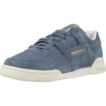 Schoenen Dames Lage sneakers Reebok Sport WORKOUT LO PLUS Blauw
