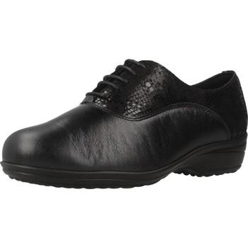 Schoenen Dames Derby Pinoso's 7671 G Zwart