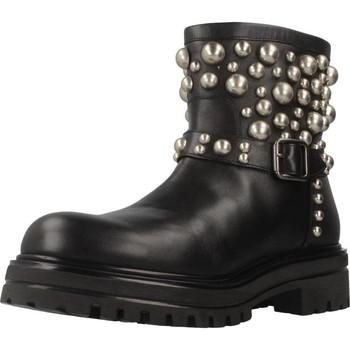 Schoenen Dames Laarzen Albano 8036AL Zwart