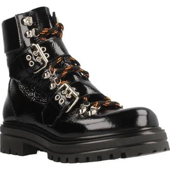 Schoenen Dames Enkellaarzen Albano 8056AL Zwart